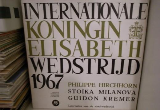 推薦黑膠  艾爾加小提琴協奏曲伊莉莎白小提琴國際比賽錄音