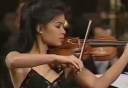 搖滾的女小提琴家 陳美
