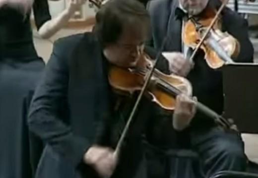 大部分的人最早拉的三大小提琴協奏曲
