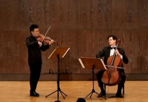 韓德爾名曲改編成人氣小大提琴二重奏
