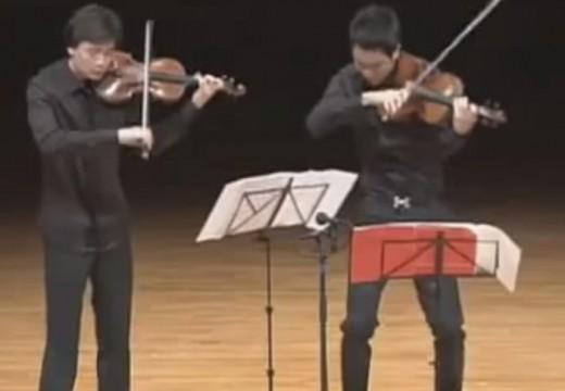 莫札特的小提琴與中提琴二重奏