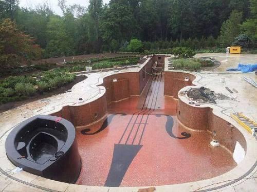 如果我家也有游泳池很想要一個