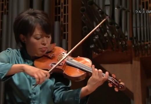 第一位征服伊莉莎皇后白大賽的日本小提琴家