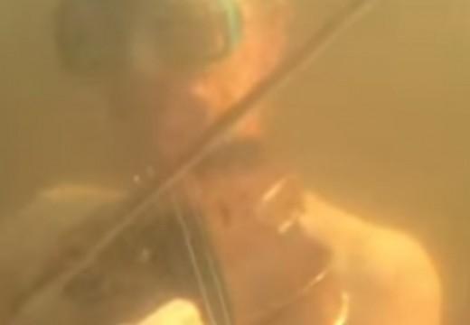 小提琴可以在水中演奏嗎?