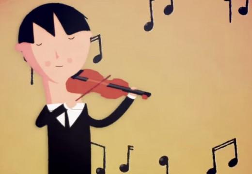 為什麼換個地方認真拉琴的小提琴家被大家忽視了??
