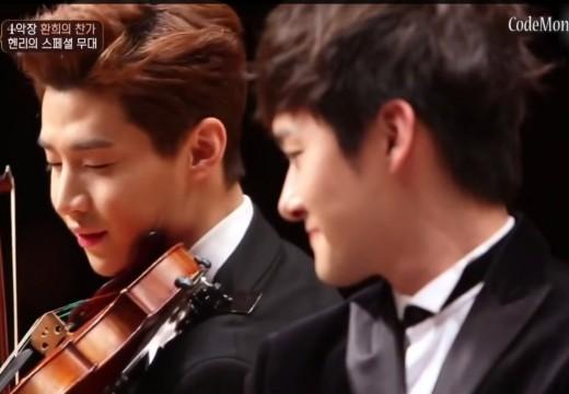 這麼帥? 這年頭當藝人可是真會拉小提琴
