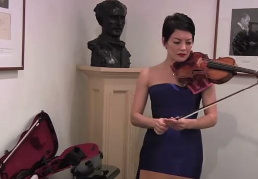 最貴的一把瓜奈里小提琴重返舞台