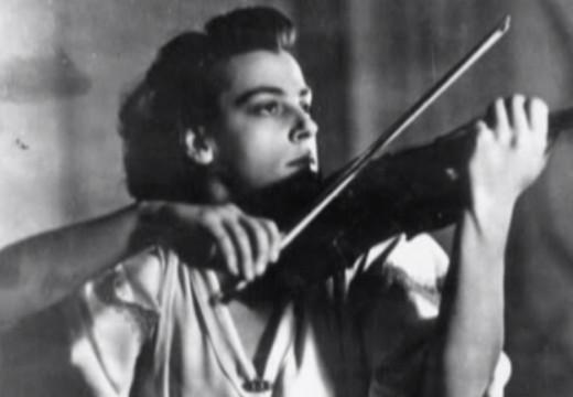 因為空難英年早逝的女小提琴家 吉奈特‧奴娃Ginette Neveu