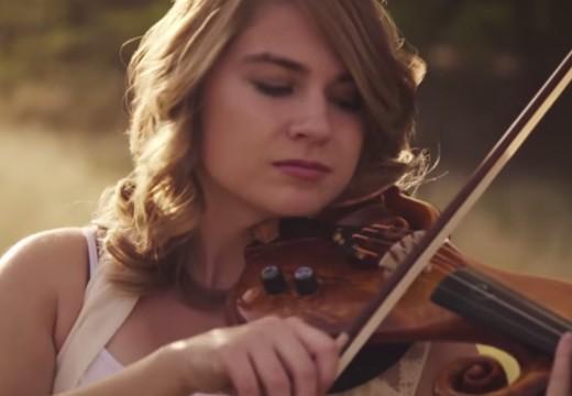 小提琴演奏的「哈比人」