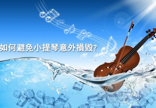 如何避免小提琴意外損毀