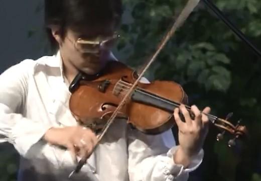 超技帕格尼尼小提琴無伴奏「上帝保佑國王」