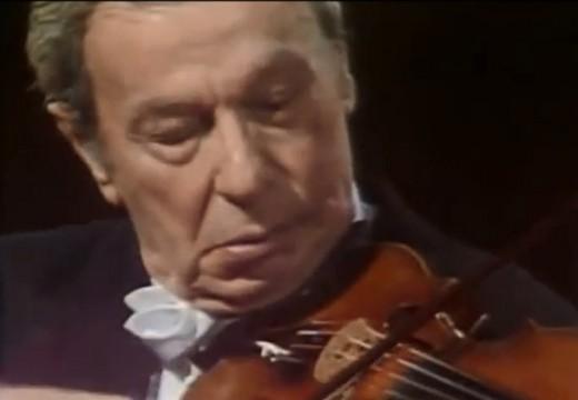 米爾斯坦的巴哈無伴奏藝術「夏康舞曲」