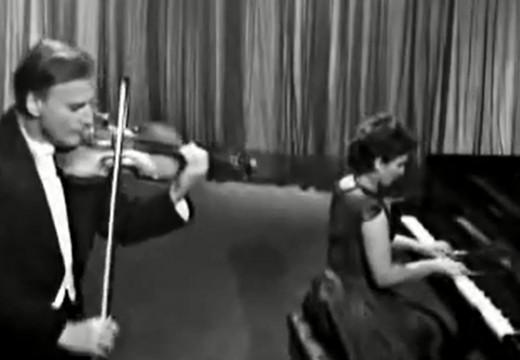 曼紐因演奏的法朗克小提琴奏鳴曲