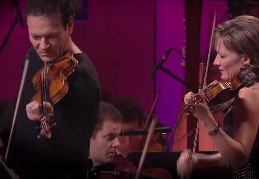 兄妹也能演奏出浪漫的雙小提琴