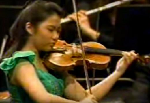 年輕的張莎拉(sarah chang)卻有如此成熟的音樂