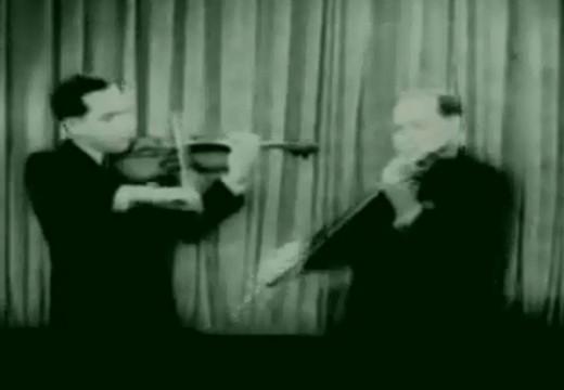 歐伊史特拉夫父子合作薩拉沙泰炫技二重奏