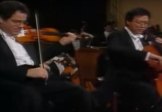 帕爾曼與馬友友對唱的幽默曲