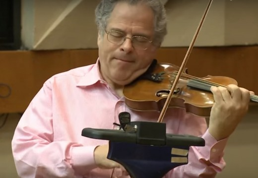 親臨帕爾曼小提琴大班課 一樣的音樂不一樣的顏色