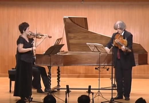 非常巴洛克的小提琴演奏