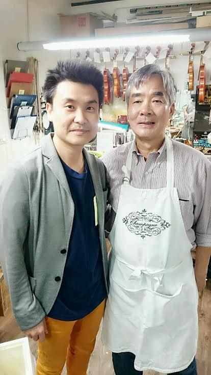 台北再見華裔製弓師權威Yung Chin秦榮師傅 真正的製弓修弓專家