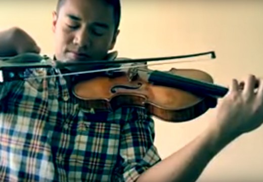 無右手小提琴家Adrian Anantawan的易沙意無伴奏