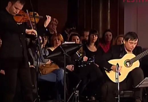 好有味道的吉他與小提琴二重奏羅馬尼亞舞曲