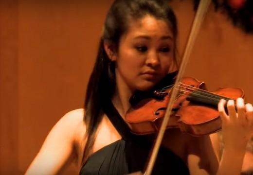 可以聽到舞步的小提琴演奏Zapateado炫技小品