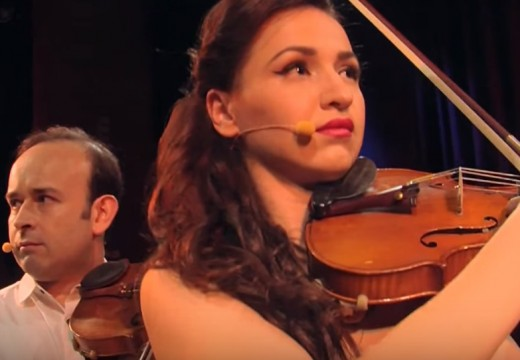 搞笑小提琴才子Igudesman與美女小提琴家Rusanda Panfili的邂逅