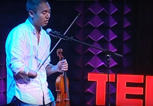 「別懷疑一隻手也可以把琴拉好」小提琴家–殷兆基Adrian Anantawan勵志TED演說