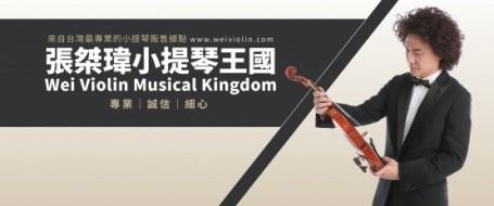 台北最專業的小提琴販售據點  張桀瑋小提琴王國