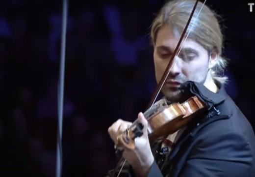 帥哥David Garrett回歸古典樂名曲  柴可夫斯基小提琴協奏曲
