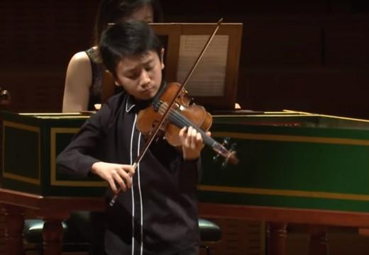 2018曼紐因小提琴大賽 10歲的傑出參賽者