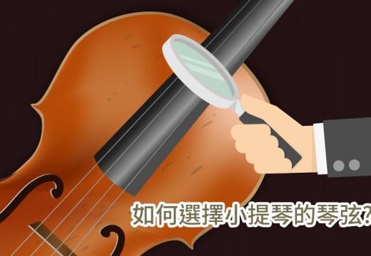小提琴的琴弦應該如何選擇?  什麼琴弦最適合我?