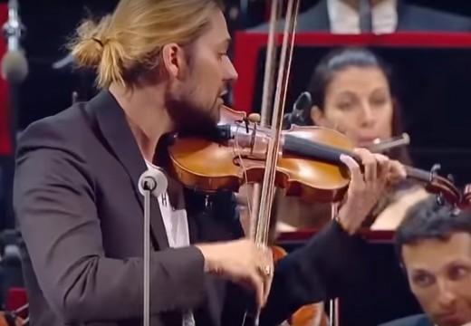 大衛蓋瑞!! 帕格尼尼隨想曲 管弦樂版本