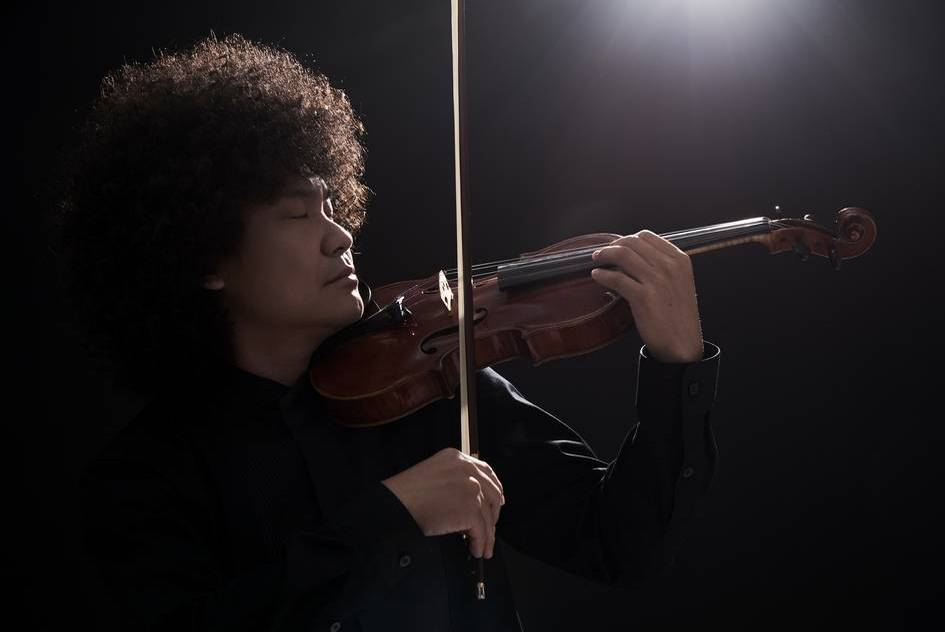 Violinist Chieh-Wei Chang